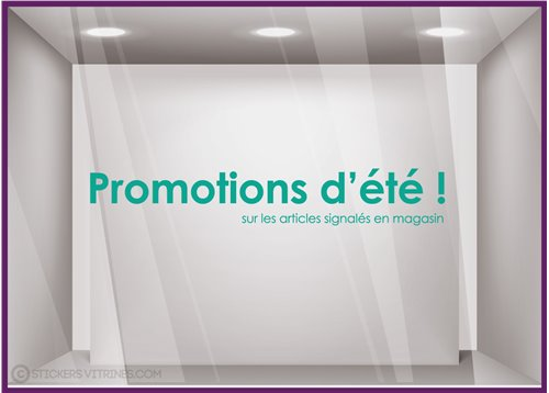 Sticker Promotion d'Eté