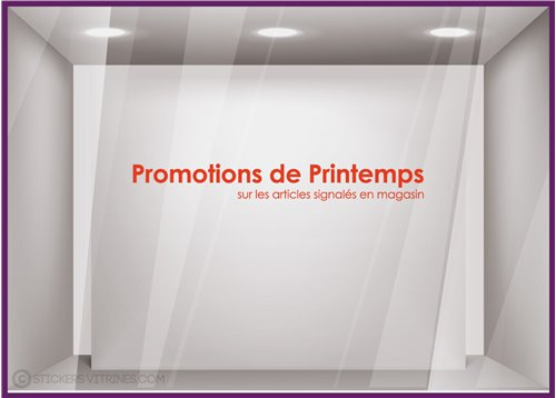 Stickers Promotions de Printemps