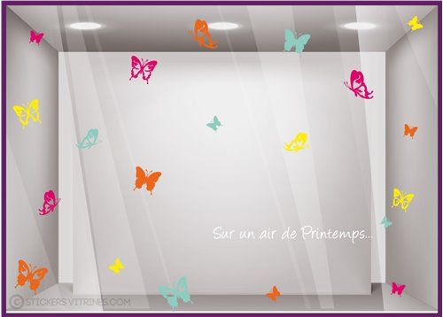 Kit de Stickers Sur un Air de Printemps