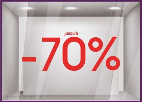Sticker Jusqu'à -70%