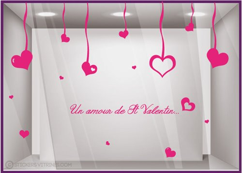 Kit de Stickers Un Amour de Saint Valentin