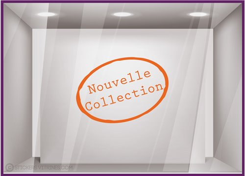 Sticker Nouvelle Collection Tampon