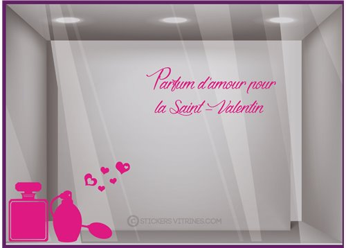 Kit de Stickers Parfum d'amour Saint-Valentin