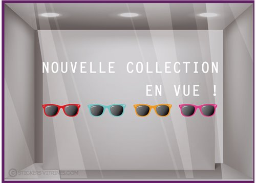 Sticker Nouvelle Collection en Vue !