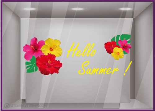 Sticker Hello Summer