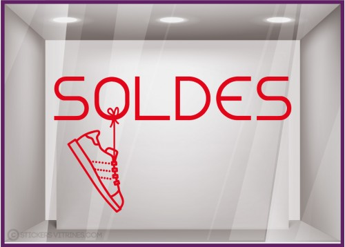 Sticker Soldes Tennis