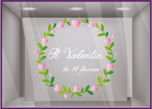 Sticker Couronne Saint Valentin
