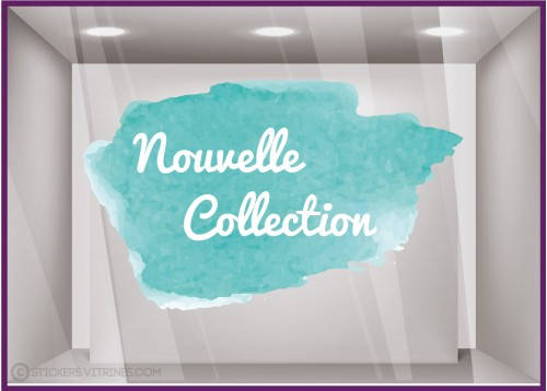 Sticker Nouvelle Collection Aquarelle