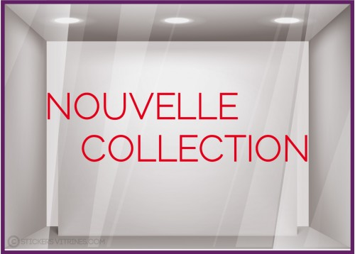 Sticker Nouvelle Collection Simple