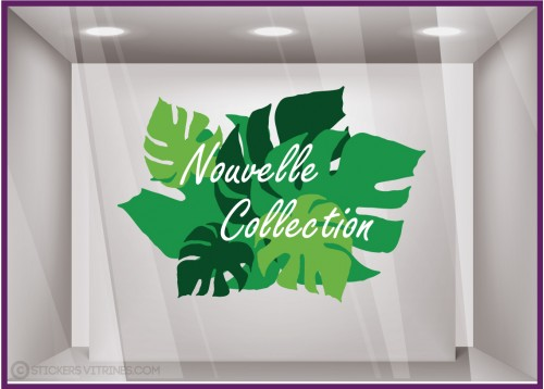 Sticker Nouvelle Collection Exotique