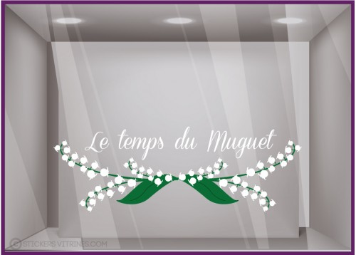 Sticker Le temps du MUGUET