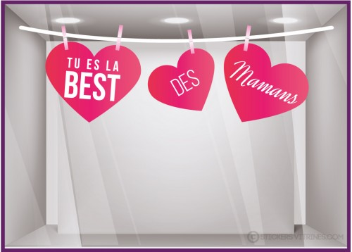 Kit de Stickers Guirlande la Best des Mamans