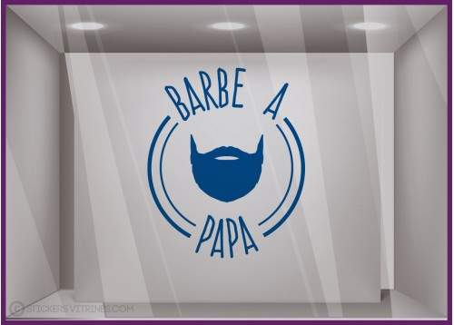 Sticker Barbe à Papa