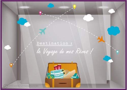 Kit de Stickers le voyage de mes rêves
