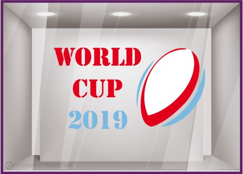 Sticker World Cup 2019 Rugby coupe du monde equipe de france
