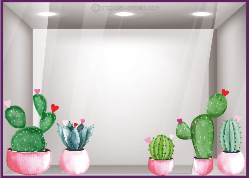 Kit de Stickers Cactus