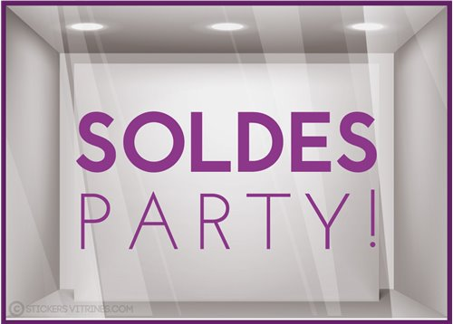 Sticker Party Soldes