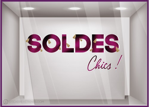 Sticker Soldes Chics