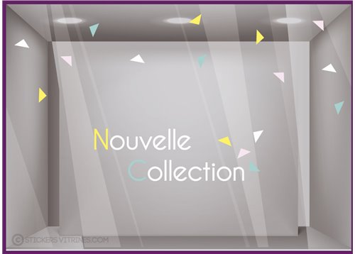 Kit de Stickers Nouvelle Collection Triangles
