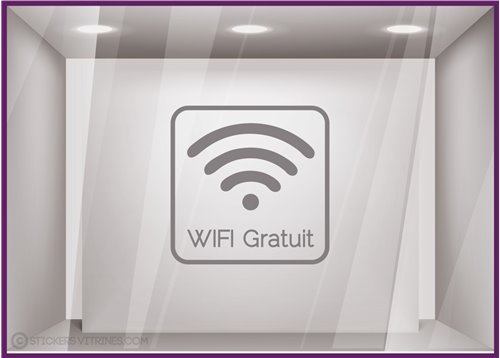 Sticker Wifi Gratuit