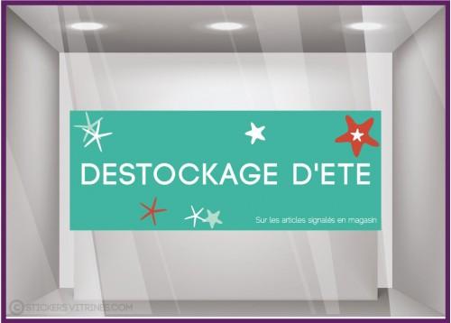 Sticker Destockage d'Été