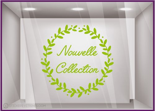 Sticker Couronne Nouvelle Collection