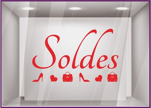 Sticker Soldes Escarpins