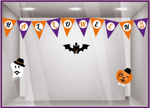 Kit de stickers Halloween